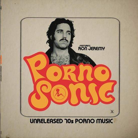 V/A - Pornosonic: Unreleased 70s Porn Music Featuring Ron Jeremy (LP - Swirled Vinyl) Enjoy The Ride