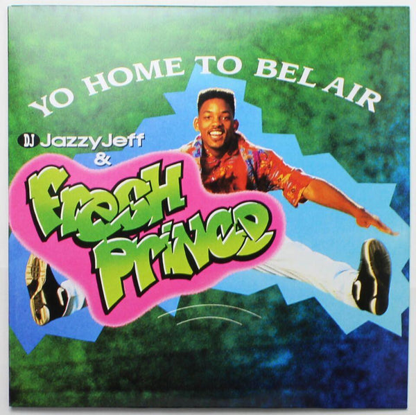 "DJ Jazzy Jeff & The Fresh Prince - Yo Home To Bel Air b/w Parents Just Don't Understand (12"" - Pink Vinyl) Enjoy The Toons"