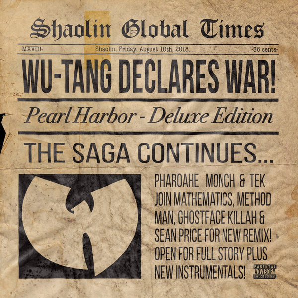 "Wu-Tang Clan - Pearl Harbor (Remix feat. Pharoahe Monch and Tek) (12"") eOne"