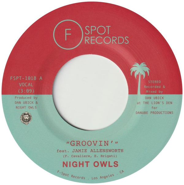 "Night Owls - Groovin' (7"") F-Spot Records"