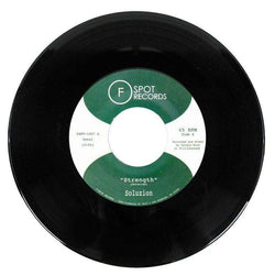 "Soluzion - Strength b/w Nyoka (7"") F-Spot Records"