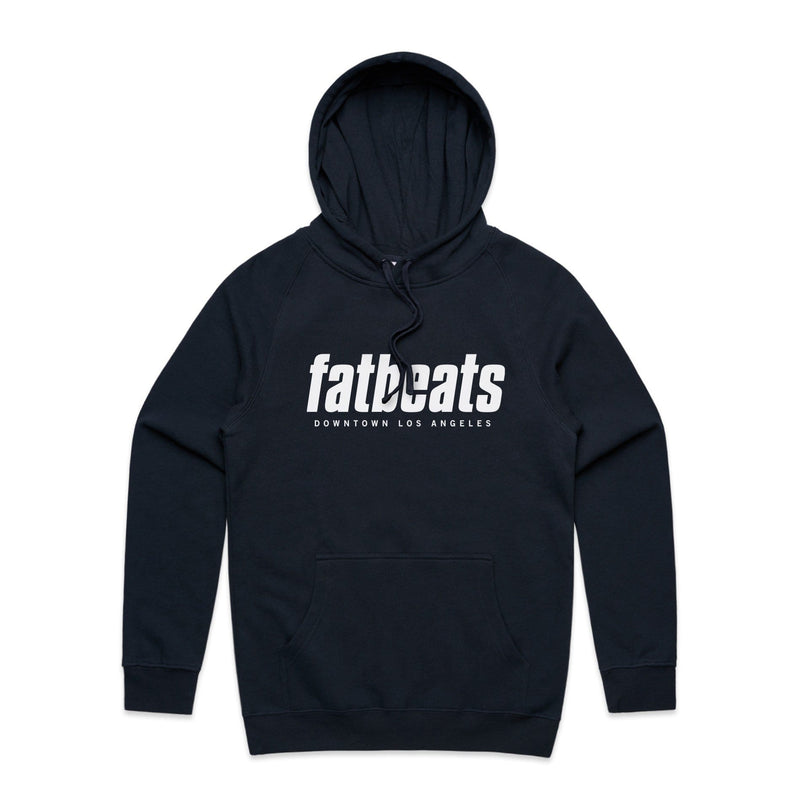 Fat Beats DTLA (Navy Blue Hoodie) Fat Beats