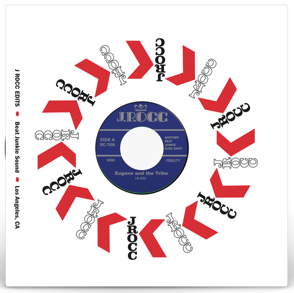 "Funky President Edits Vol. 8: Eugene and the Tribe b/w Sweat Break (7"") Fat Beats"