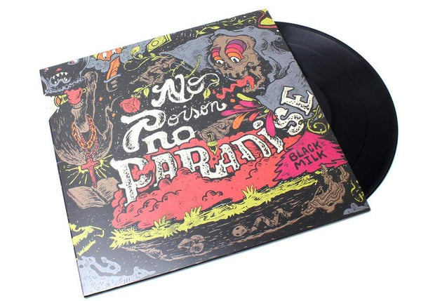 Black Milk - No Poison No Paradise (2xLP - Black Vinyl) Fat Beats Records