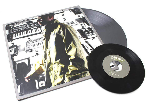 "Black Milk - Tronic: Silver Edition  (2xLP - Silver Vinyl + 7"") Fat Beats Records"