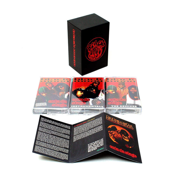Black Moon - Enta Da Stage: The Complete Edition (3xCassette - Boxset) Fat Beats Records