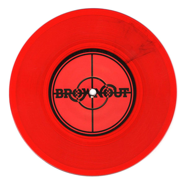 "Brownout - Fight The Power b/w Brothers Gonna Work It Out (7"" - Red Vinyl) Fat Beats Records"