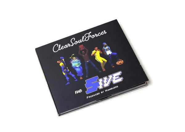 Clear Soul Forces - Fab Five (Produced by Nameless) (CD) Fat Beats Records