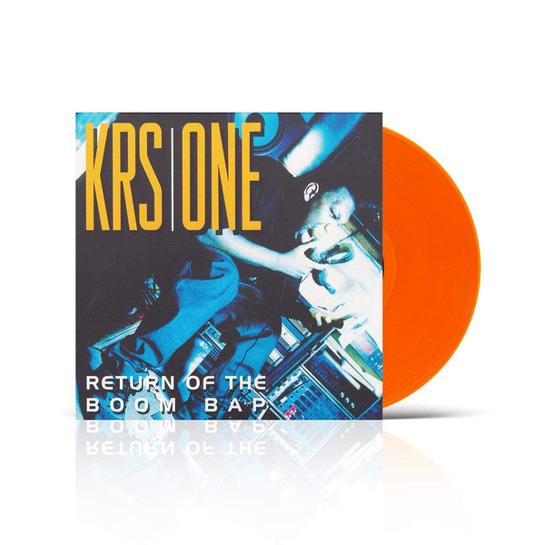 "KRS-One - Return Of The Boom Bap (2xLP - Gold Vinyl + 7"") Fat Beats Records"