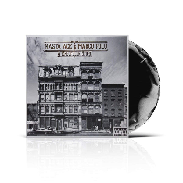 Masta Ace & Marco Polo - A Breukelen Story (2xLP - Fat Beats Exclusive Black/White Swirl Vinyl) Fat Beats Records