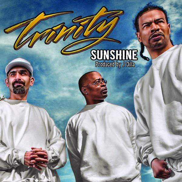 "Trinity - Sunshine (produced by J. Dilla) (7"" - Clear Vinyl) Fat Beats Records"