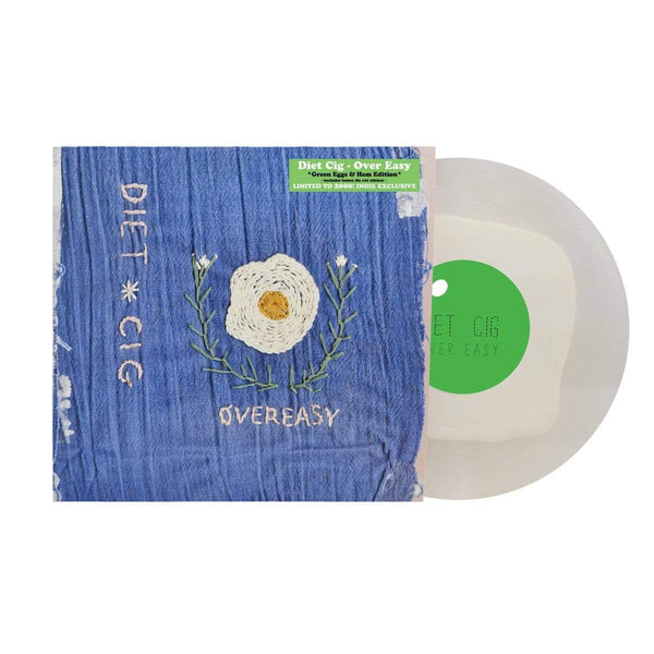 "Diet Cig - Over Easy (EP - ""Green Eggs & Ham"" Vinyl) Father/Daughter Records"
