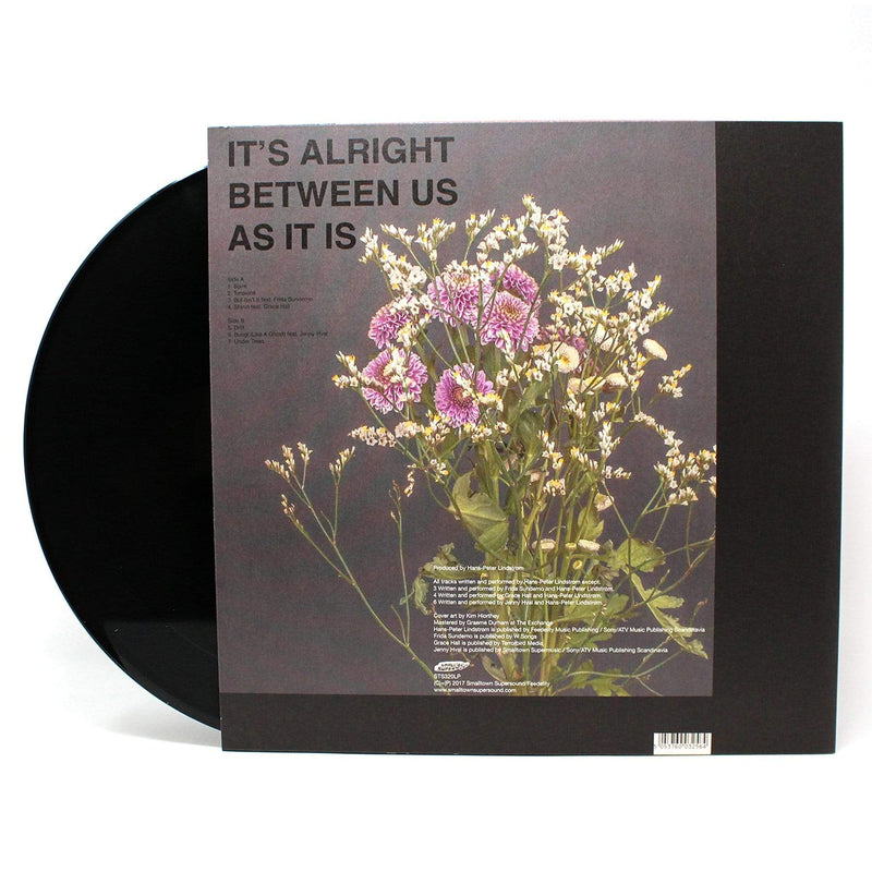 Lindstrøm - It's Alright Between Us As It Is (LP) Feedelity Recordings
