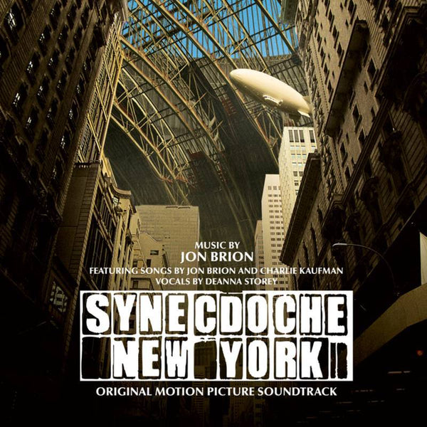 Jon Brion - Synecdoche, New York (LP - White Vinyl) Fire Soundtracks