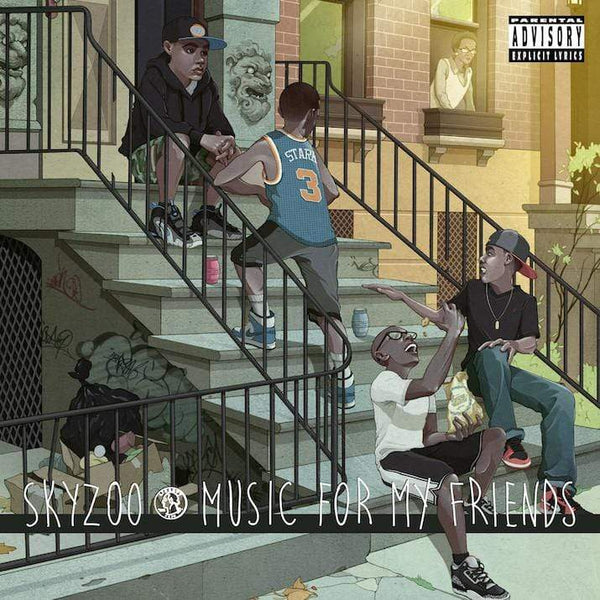 Skyzoo - Music For My Friends (Cassette) First Generation Rich