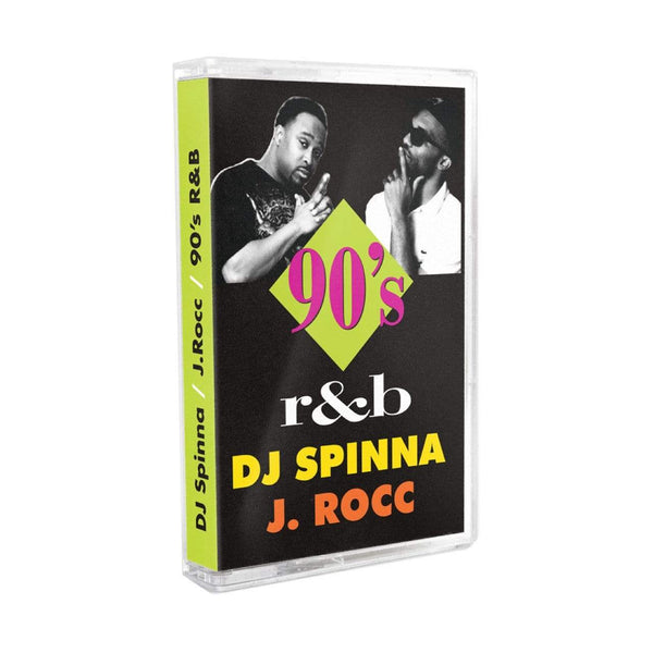 DJ Spinna & J. Rocc - 90's R&B Mix (Cassette) Footlong Development