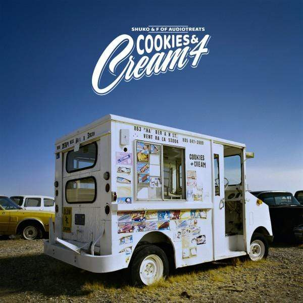 Shuko & F. Of Audiotreats - Cookies & Cream 4 (LP) For The Love Of It