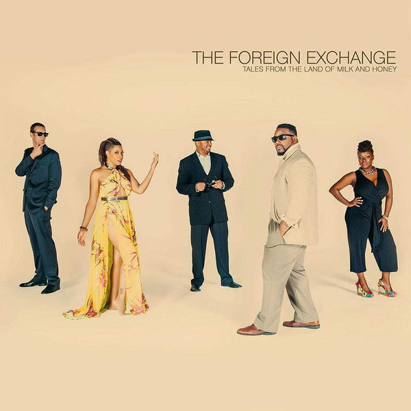 The Foreign Exchange - Tales from the Land of Milk and Honey (2xLP - Colored Vinyl) Foreign Exchange Music