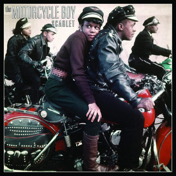 The Motorcycle Boy - Scarlet (LP) Forgotten Astronaut Records
