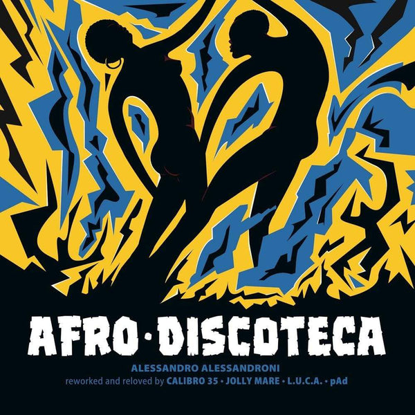 "Alessandro Alessandroni - Afro Discoteca: Reworked And Reloved (12"") Four Flies Records"