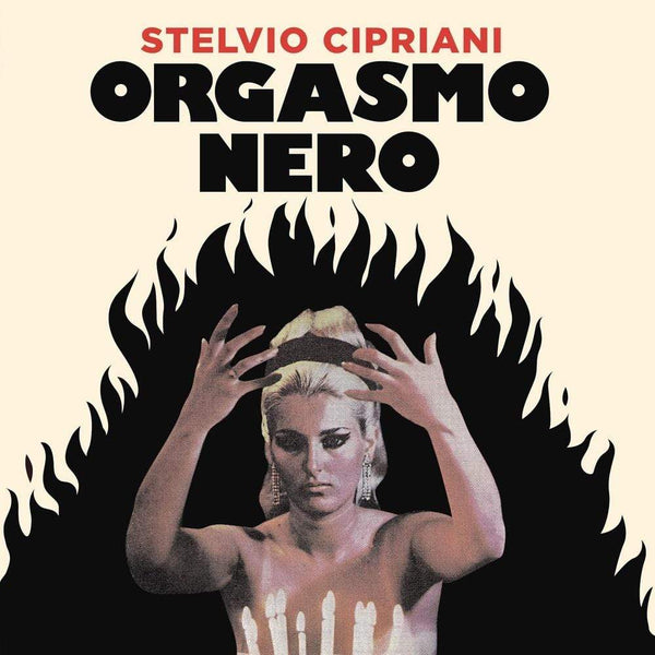 "Stelvio Cipriani - Orgasmo Nero (7"") Four Flies Records"