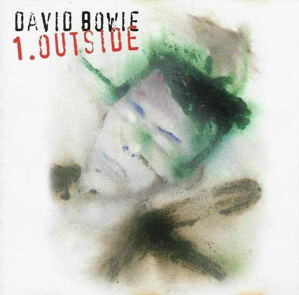 David Bowie - 1. Outside (2xLP - White/Black Vinyl) Friday Music