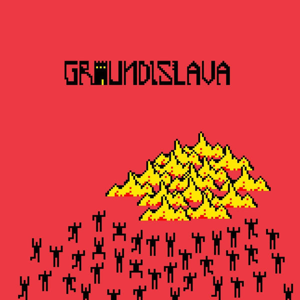 Groundislava - Groundislava (LP - Translucent Red Vinyl) Friends of Friends