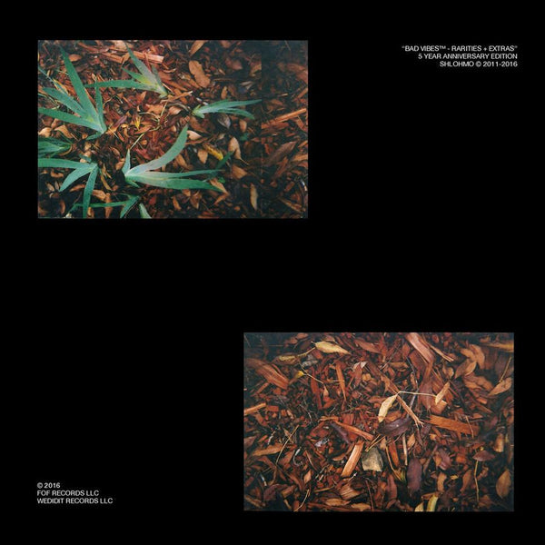 Shlohmo - Bad Vibes: Rarities and Extras (LP) Friends of Friends