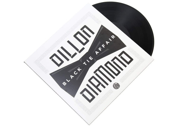 "Dillon & Diamond D - Black Tie Affair (EP - 12"" Vinyl) Full Plate"