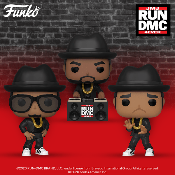 Run DMC Funko Pop! (Set of 3) Funko Pop