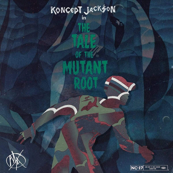 Koncept Jack$on - The Tale of the Mutant Root (LP) FXCK RXP RXCXRDS