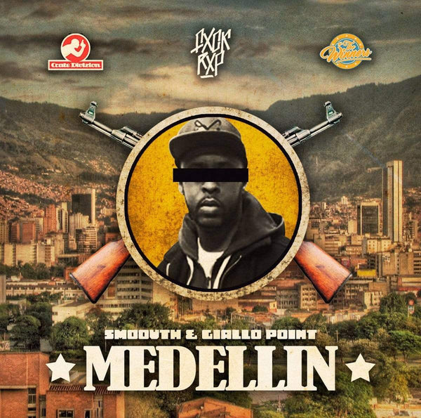 Smoovth & Giallo Point - Medellin Vol. 1 (CD) FXCK RXP RXCXRDS