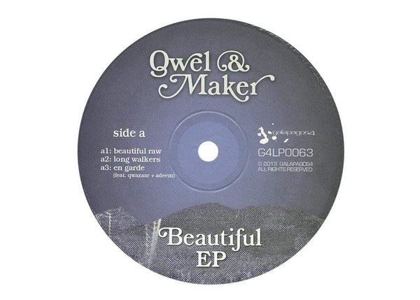 Qwel & Maker ‎- Beautiful (EP) Galapagos4