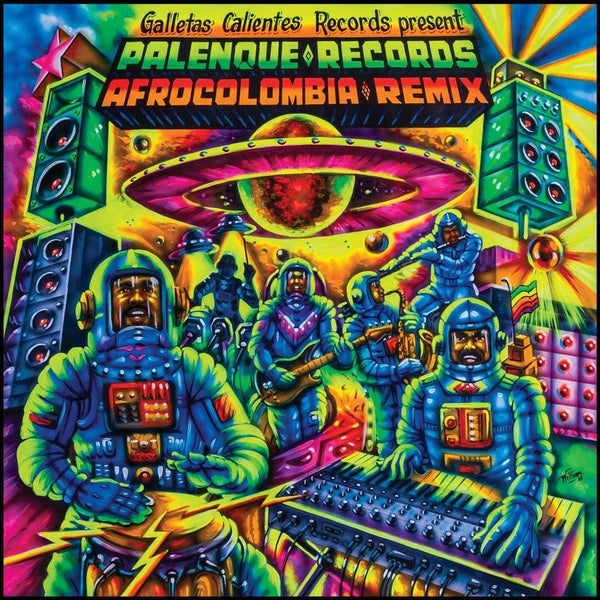 V/A - Palenque Records AfroColombia Remix (LP) Galletas Calientes