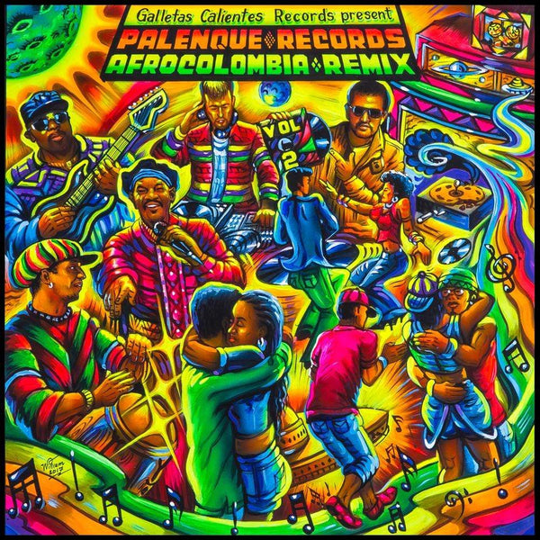 V/A - Palenque Records Afrocolombia Remix, Vol. 2 (LP) Galletas Calientes