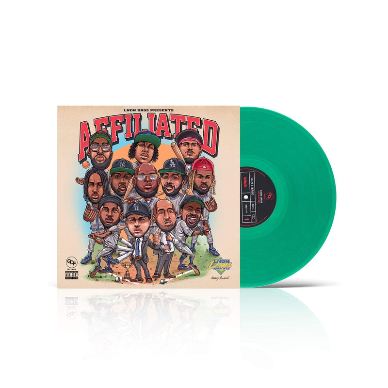 LNDN DRGS - Affiliated (LP - Green Vinyl - Fat Beats Exclusive) GDF Records