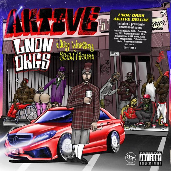 LNDN DRGS (Jay Worthy & Sean House) - Aktive Deluxe (CD) GDF Records