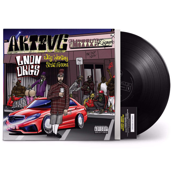 LNDN DRGS (Jay Worthy & Sean House) - Aktive (LP + Download Card) GDF Records