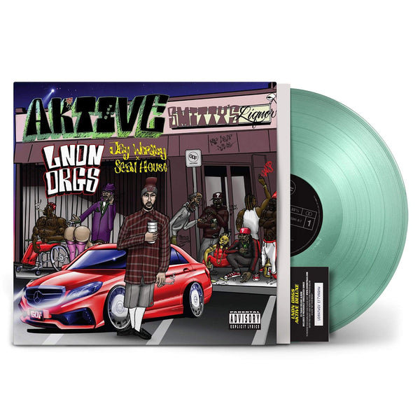 LNDN DRGS (Jay Worthy & Sean House) - Aktive (LP - Fat Beats Exclusive - Coke Bottle Clear Vinyl + Download Card) GDF Records