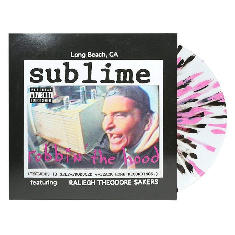 Sublime - Robbin' The Hood (2xLP - Limited Clear/Pink/Black Splatter Vinyl) Geffen/Gasoline Alley