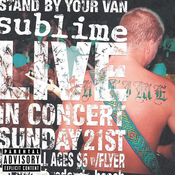 Sublime - Stand By Your Van (LP) Geffen/Gasoline Alley