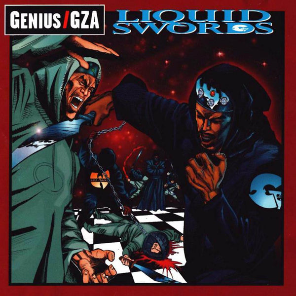 GZA - Liquid Swords: The Chess Box (2xCD - Deluxe Edition + Chess Set) Geffen Records