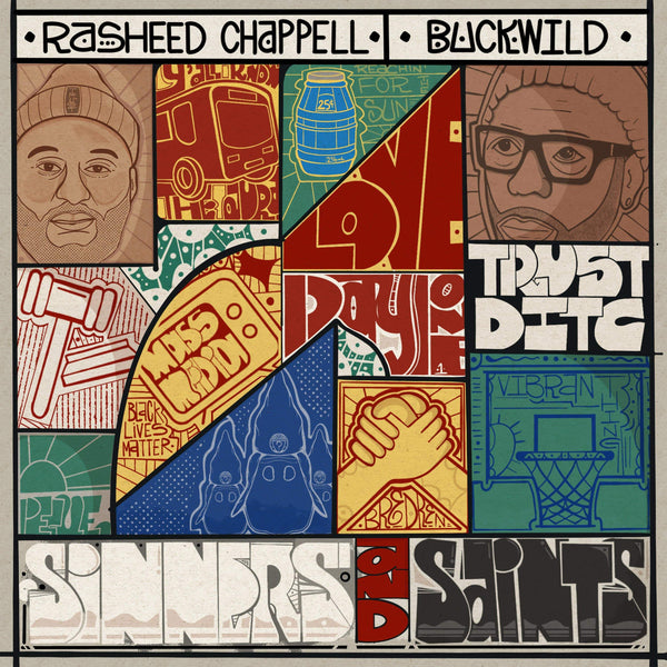 Rasheed Chappell & Buckwild - Sinners And Saints (CD) Get On Down