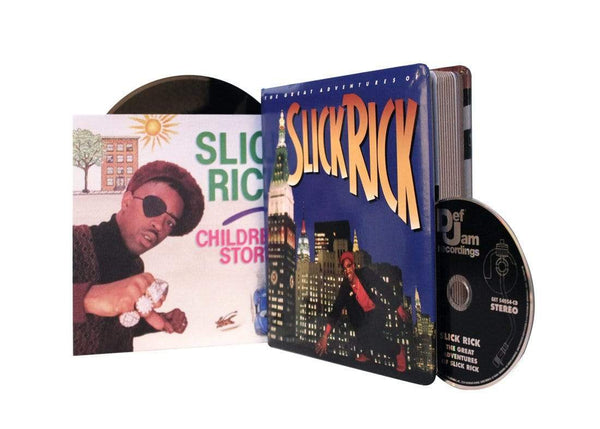 "Slick Rick - The Great Adventures Of… Children's Book (CD + 7"" + Book) Get On Down"
