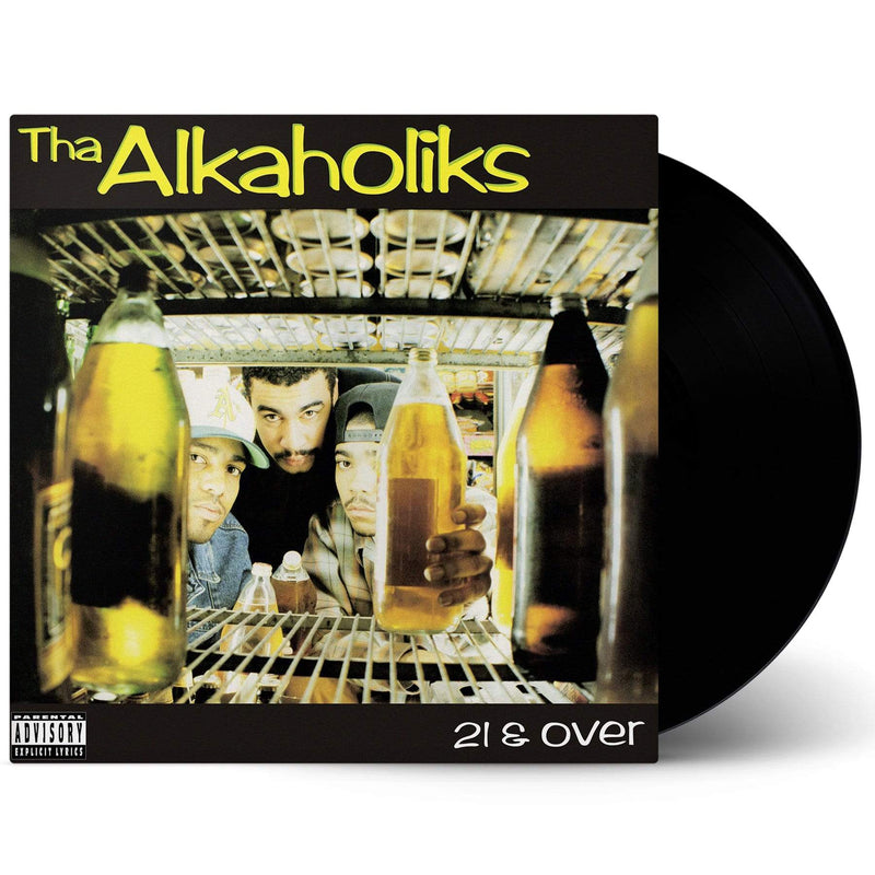 Tha Alkaholiks - 21 & Over (LP) Get On Down