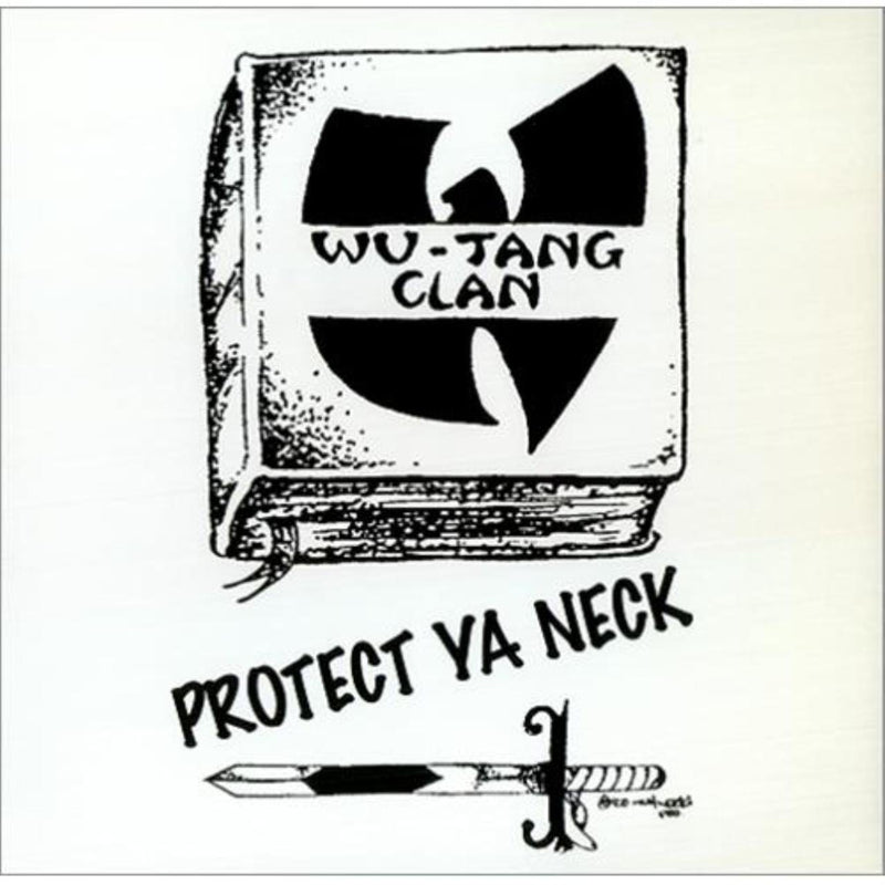 "Wu-Tang Clan - Protect Ya Neck/Method Man (12"" - Yellow/Black Split-Colored Vinyl - Includes Remixes) Get On Down"