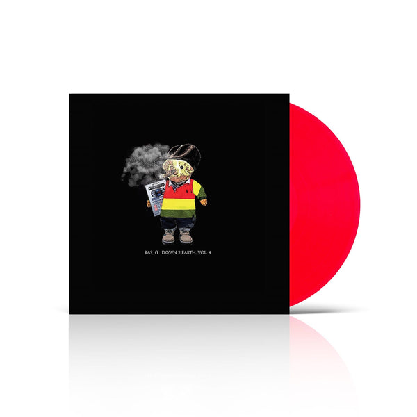 Ras_G - Down 2 Earth Vol. 4 Bundle (LP - Red Vinyl + Shirt - Fat Beats Exclusive) Ghetto Sci-Fi Music