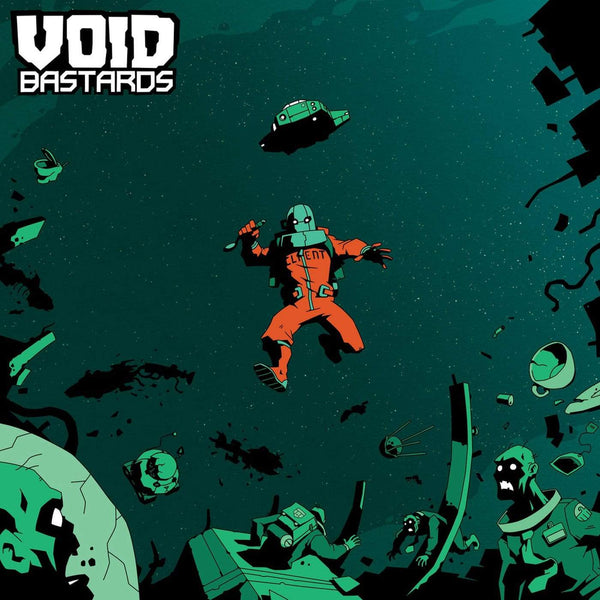 Ryan Roth - Void Bastards Original Soundtrack (LP - Green/Black Splatter Vinyl) Ghost Ramp