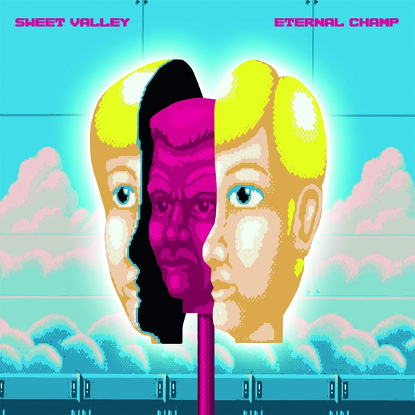 Sweet Valley - Eternal Champ (LP - Blue Vinyl) Ghost Ramp