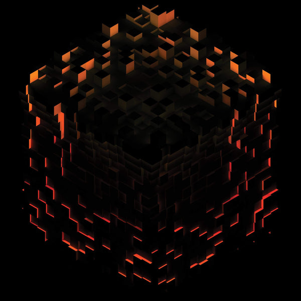 "C418 - Minecraft: Volume Beta (2xLP - ""Fire Splatter"" Vinyl + Lenticular Jacket) Ghostly International"
